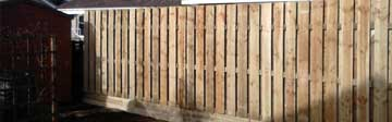 Made to Fit Wooden Fencing